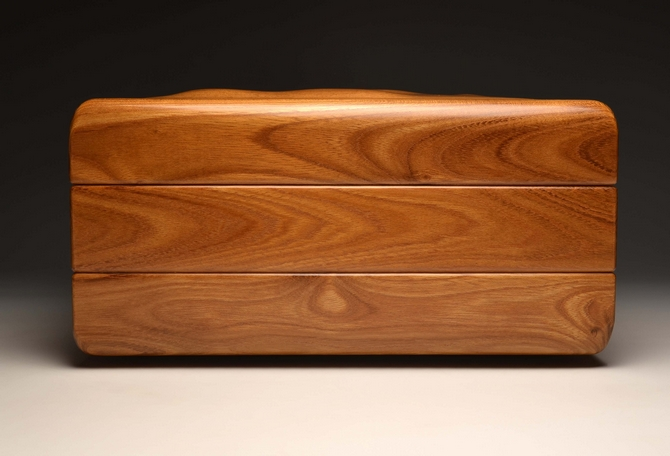 A Handmade Laburnum watch box No. 0069
