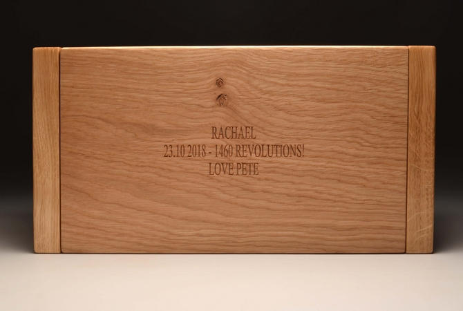 Personalised Oak jewellery box Ref.OTLJ