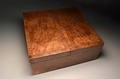 Handmade Burr walnut wine case No 0082