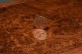 Burr Walnut  desk box - No 0089