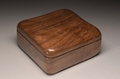 A Walnut trinket box No.0144