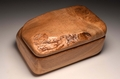 Handmade Oak trinket box No.0132