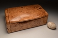 Burr Oak handmade jewellery box No.0162