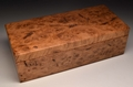 Handmade Burr Oak trinket box No.0180