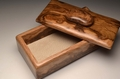 A Holm Oak handmade trinket box No 0100