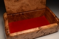 A Handmade Burr Oak memory box No.0159