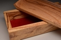 Spalted Elm handmade trinket box No.0171