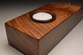 Burry Walnut handmade tealight VT14