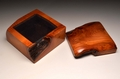 Handmade Yew trinket box No.0204