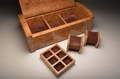 A Burr Oak Gents accessory box - 0080