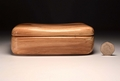 A trinket box handmade from Spalted Beech No.0137