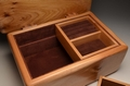 A handmade Elm jewellery box No.0151