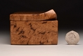 Handmade Burr Oak keepsake box No.0176