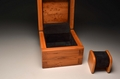 A Handmade single Watchbox from Yew -  No 0046