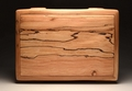 A two watch case from Spalted Beech No.0050
