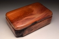 A Yew handmade keepsake box No.0199