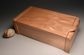 A handmade jewellery box in solid Beech 0019