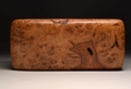 A keepsake box handmade from Burr Oak No.0178