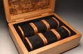 Handmade watch box from Holm Oak and Oak No. 0071