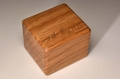 Handmade Oak Ring Box