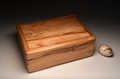 A handmade jewellery box from Spalted Beech - No.0052